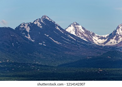 Mountains at Anchorage