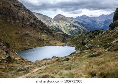 Mountains in Andorra. Coma Pedrosa.