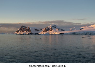 Mountains at the antartica