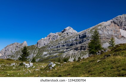 Mountains around Madonna di Campiglio, Trentino, Italy