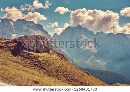 Mountains around Madonna di