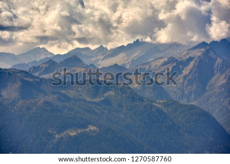 Mountains around Madonna di