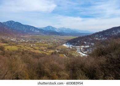 Mountains in Azerbaijan