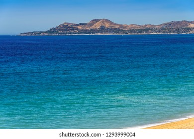 Mountains and beaches in Los Cabos, Mexico