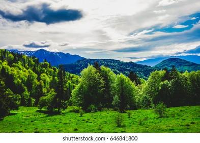 Mountains beautiful landscape
