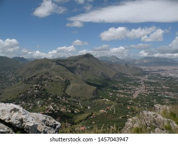mountains in Belmonte Mezzagno/ Palermo