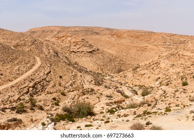 Mountains in the Desert of Negev, Israel