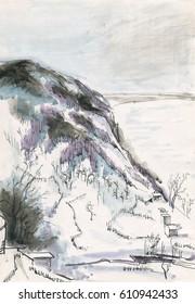Mountains etude