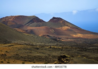 Mountains of fire,Timanfaya National Park in Lanzarote Island