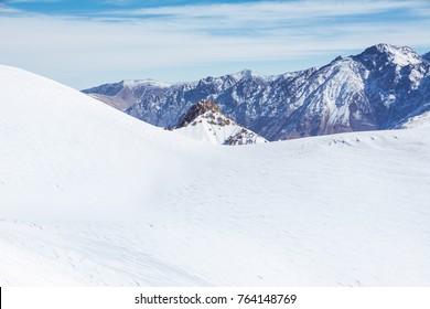 Mountains in Georgia, Gudauri