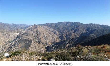 Mountains in the high desert, California