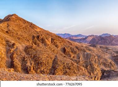 Mountains in the Judean Desert