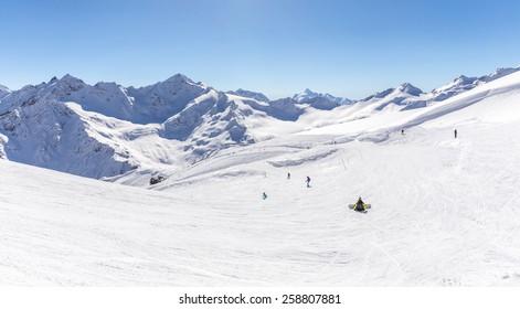 Mountains landscape, Caucasus Russia