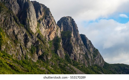 Mountains in Lofoten, Norway