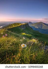 mountains in mala fatra, orava, slovakia - Shutterstock ID 1098400268