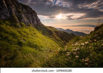 mountains in mala fatra, orava, slovakia - Shutterstock ID 1098400280