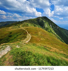 Mountains of Mala Fatra in Slovakia in summer