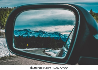 Mountains In The Mirror