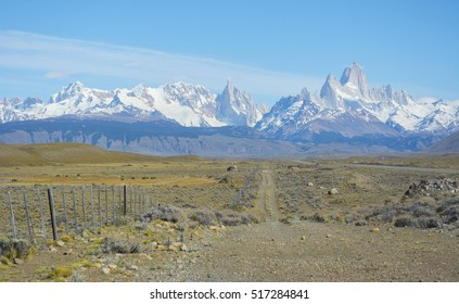 Mountains in National Park Los Glaciares ,Fitz Roy Mountains, Patagonia, Argentina