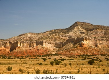 Mountains near Abiqu and Ghost Ranch in Northern New Mexico