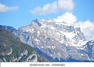Mountains near Annecy . Alps .