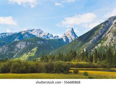 Mountains near Banff, Alberta, Canada