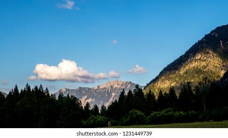 Mountains near Oberammergau