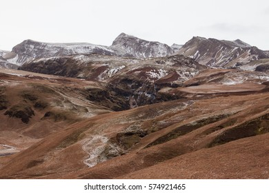 Mountains near Vik, Iceland