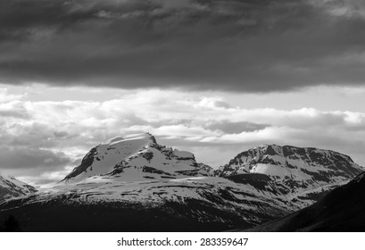Mountains in the north of Norway.The mountain the Sleeping soldier