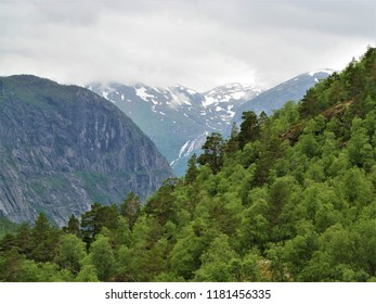 mountains in Norway
