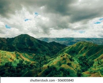 Mountains Over Haiti