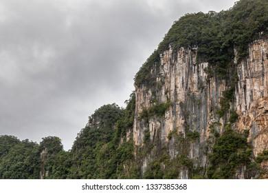 Mountains over the jungle, Ke-Bang National Park, Phong Nha, Vietnam