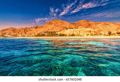 Mountains, Red Sea? eilat