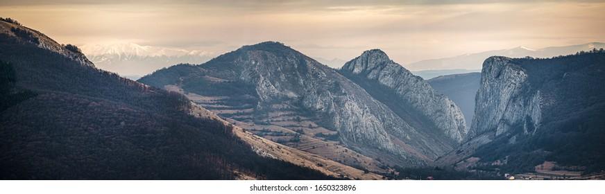 Mountains of Romania in Rimetea