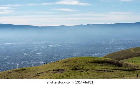 Mountains of San Francisco Bay Area, USA