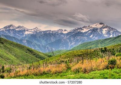 Mountains Scene, near Park-City Utah