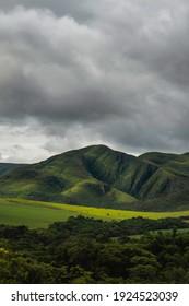 Mountains of Serra da Canastra, Minas Gerais, Brazil.