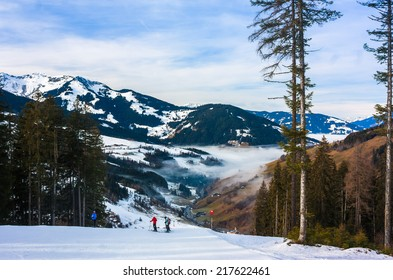 Mountains ski resort in Austria - nature and sport picture