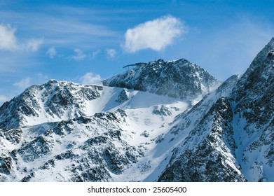 mountains of Solden (Austria)