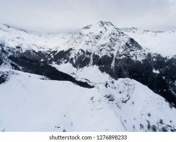 Mountains in Somport, Huesca, Spain