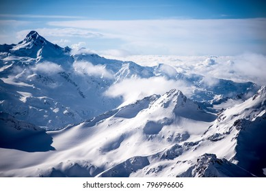 Mountains at south from Elbrus.