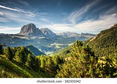 Mountains in South Tirol