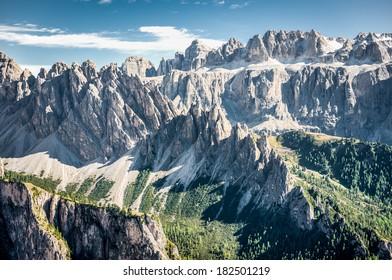Mountains in South Tirol, HDR
