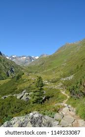 Mountains in Stubai Valley