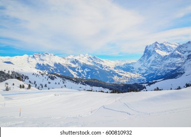 The mountains in Switzerland
