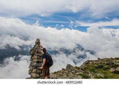 Mountains in Switzerland