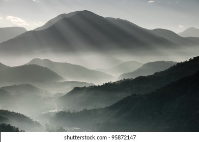 Mountains in Taiwan
