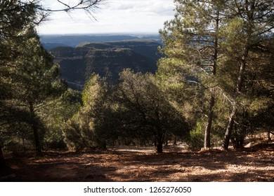 Mountains of Teruel. La Picosa way. Teruel province