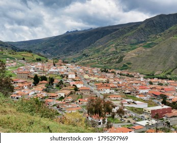 Mountains and towns of Merida in the Venezuelan Andes