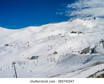 Mountains of Valle Nevado Chile